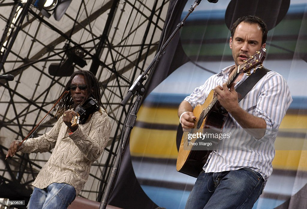 Boyd Tinsley and Dave Matthews of Dave Matthews Band