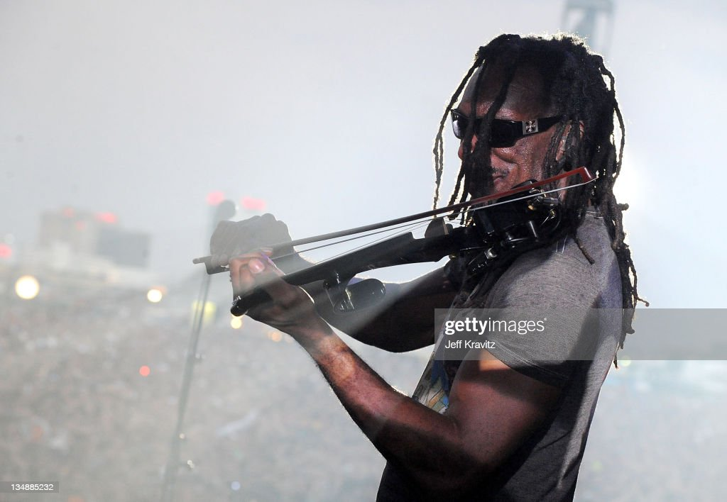 Boyd Tinsley of the Dave Matthews Band performs during day two of Dave Matthews Band Caravan at Bader Field on June 25, 2011 in Atlantic City, New Jersey.