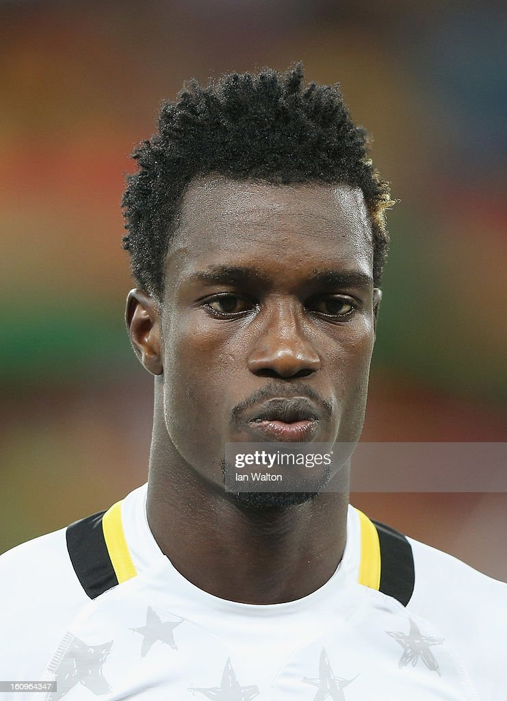 Boye John of Ghana during the 2013 Africa Cup of Nations Semi-Final match between Burkina Faso and Ghana at the Mbombela Stadium on February 6, 2013 in Nelspruit, South Africa.