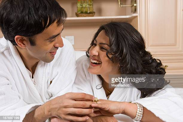 Indian Engagement Ring Stock Photos and Pictures | Getty ...