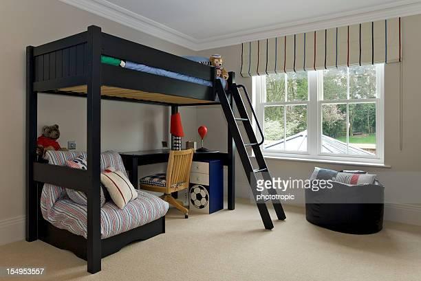 少年のベッドルーム