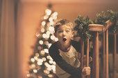 Boy's Christmas Surprise