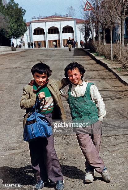 Boys in Shusha Azerbaijan in May 1992 The city of Shusha was the last major town in Azerbaijan to fall to Armenian troops Shusha was the historical...