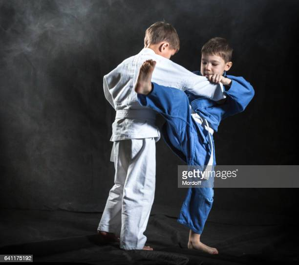 Jongens Judo Fighters