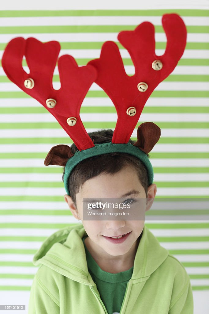 Boy's portrait : Stock Photo