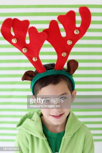 Boy's portrait : Stock Photo