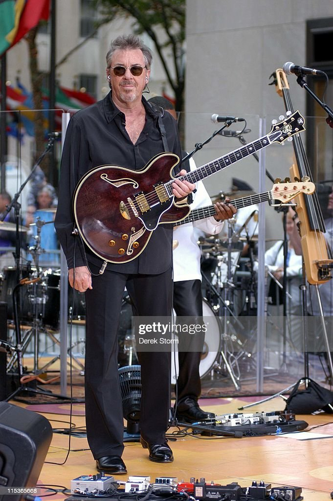 """Boz Scaggs Performs on the """"Today"""" Show 2004 Summer Concert Series - August 7,"""