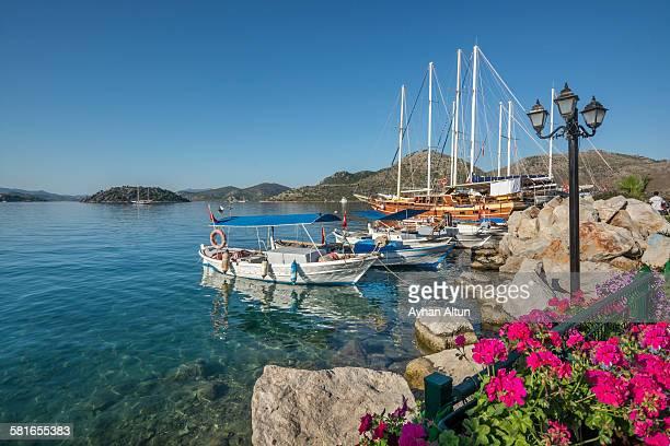 Bozburun bay in Marmaris, Mugla province, Turkey