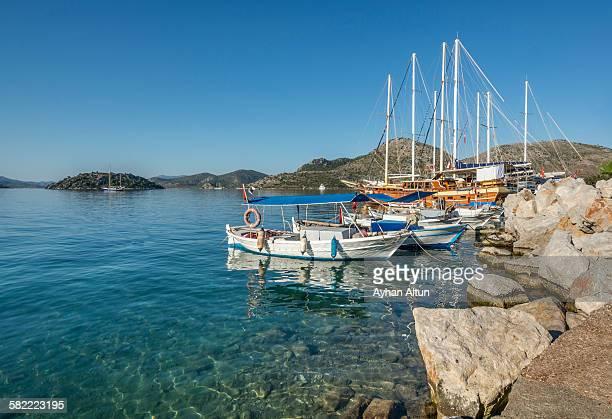 Bozburun Bay in Marmaris, Mugla,Turkey