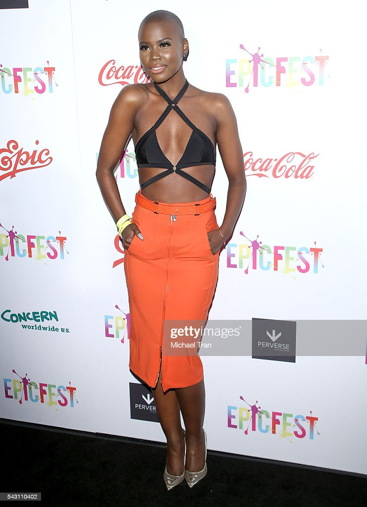 V. Bozeman arrives at the 2nd Annual Epic Fest held at Sony Pictures Studios on June 25, 2016 in Culver City, California.
