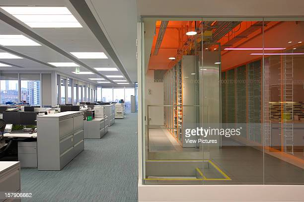 Bp London United Kingdom Architect Sheppard Robson Bp Landscape View Of Office With Central Breakout Space On Right