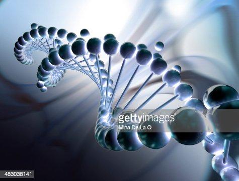 DNA bp : Stock Photo