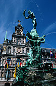 Brabo fountain and Grote Market.