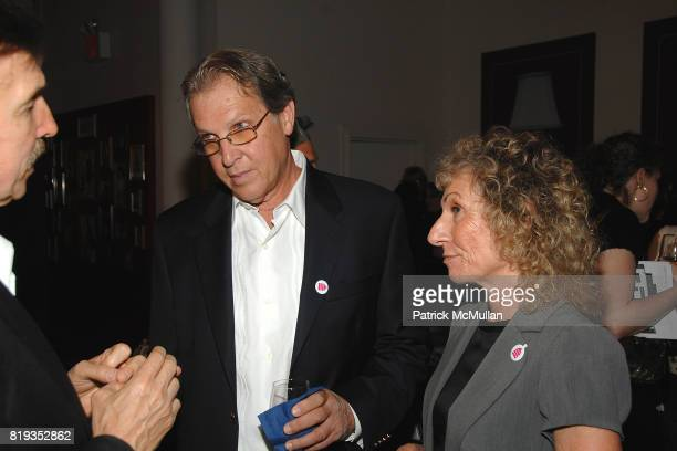Brad Allen Steven Lester and Jean Lester attend HOUSING WORKS DESIGN ON A DIME opening night reception at Metropolitan Pavillion on May 6 2010 in New...