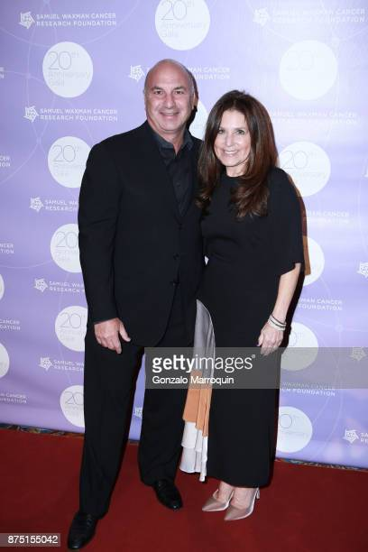 Brad and Jane Saltzman during the Samuel Waxman Cancer Research Foundation's 20th Anniversary Gala COLLABORATING FOR A CURE on November 16 2017 in...