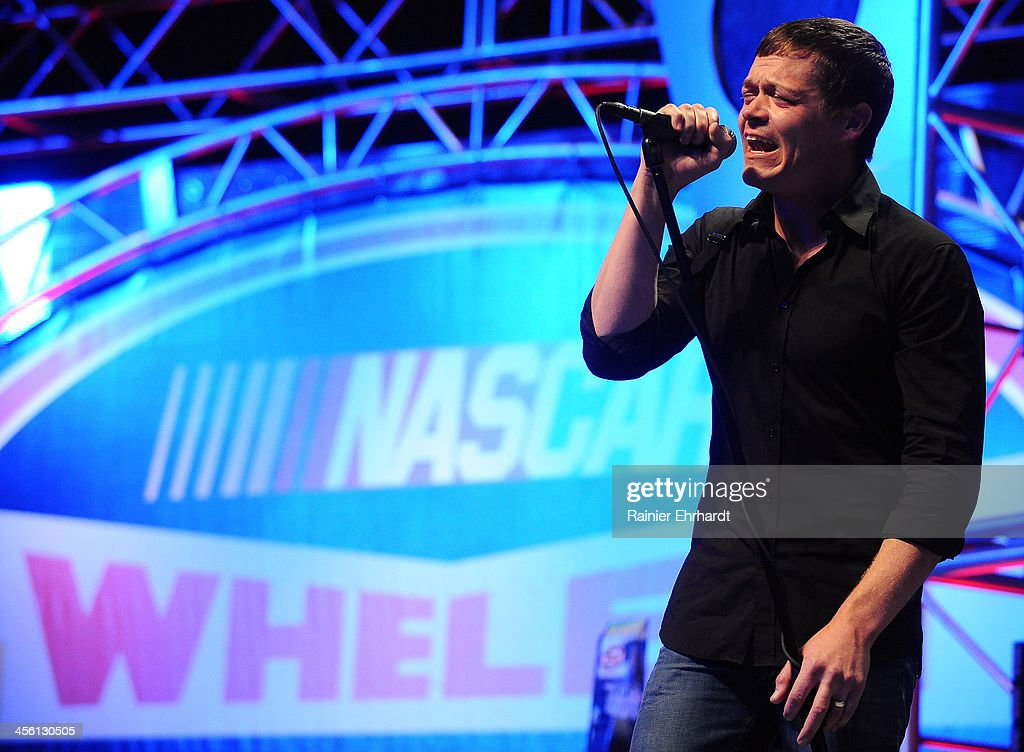 Brad Arnold performs during the NASCAR All-American Series Awards at Charlotte Convention Center on December 13, 2013 in Charlotte, North Carolina.