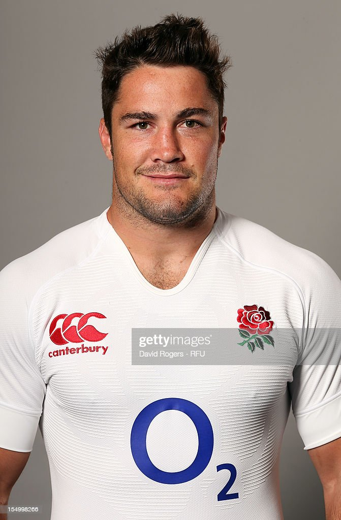 <a gi-track='captionPersonalityLinkClicked' href=/galleries/search?phrase=Brad+Barritt&family=editorial&specificpeople=4542508 ng-click='$event.stopPropagation()'>Brad Barritt</a> of England poses for a portrait on August 7, 2012 in Loughborough, England.