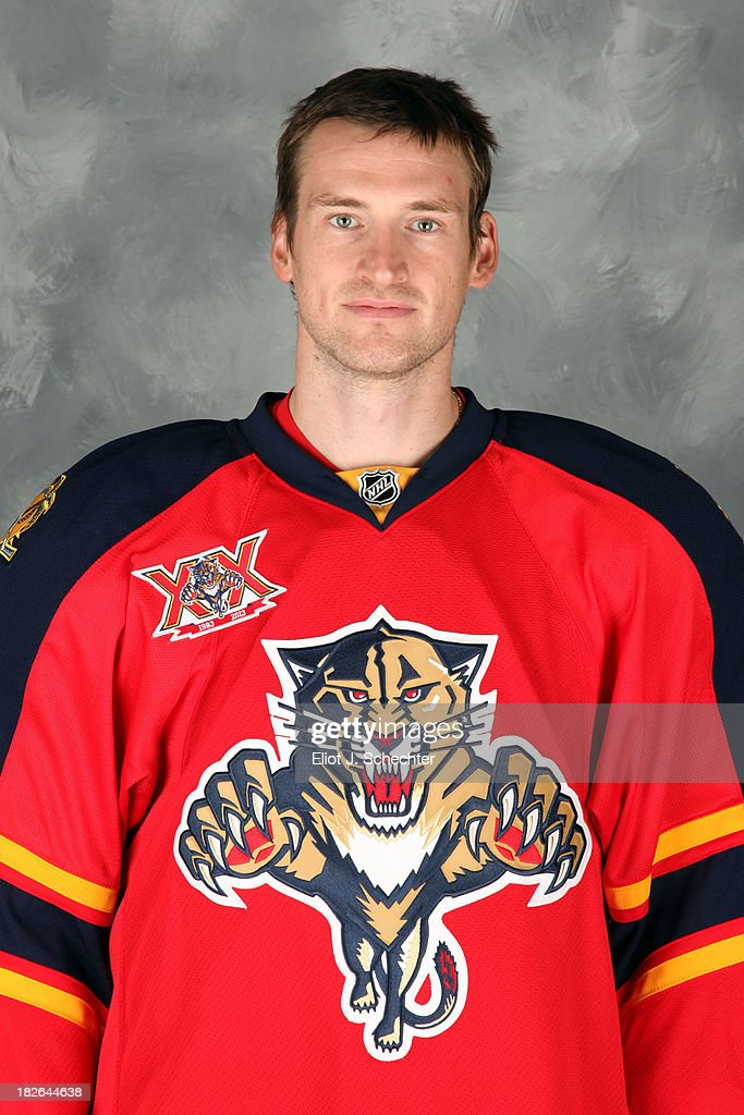 <a gi-track='captionPersonalityLinkClicked' href=/galleries/search?phrase=Brad+Boyes&family=editorial&specificpeople=275014 ng-click='$event.stopPropagation()'>Brad Boyes</a> of the Florida Panthers poses for his official headshot for the 2013-2014 NHL season on October 1, 2013 in Sunrise, Florida.