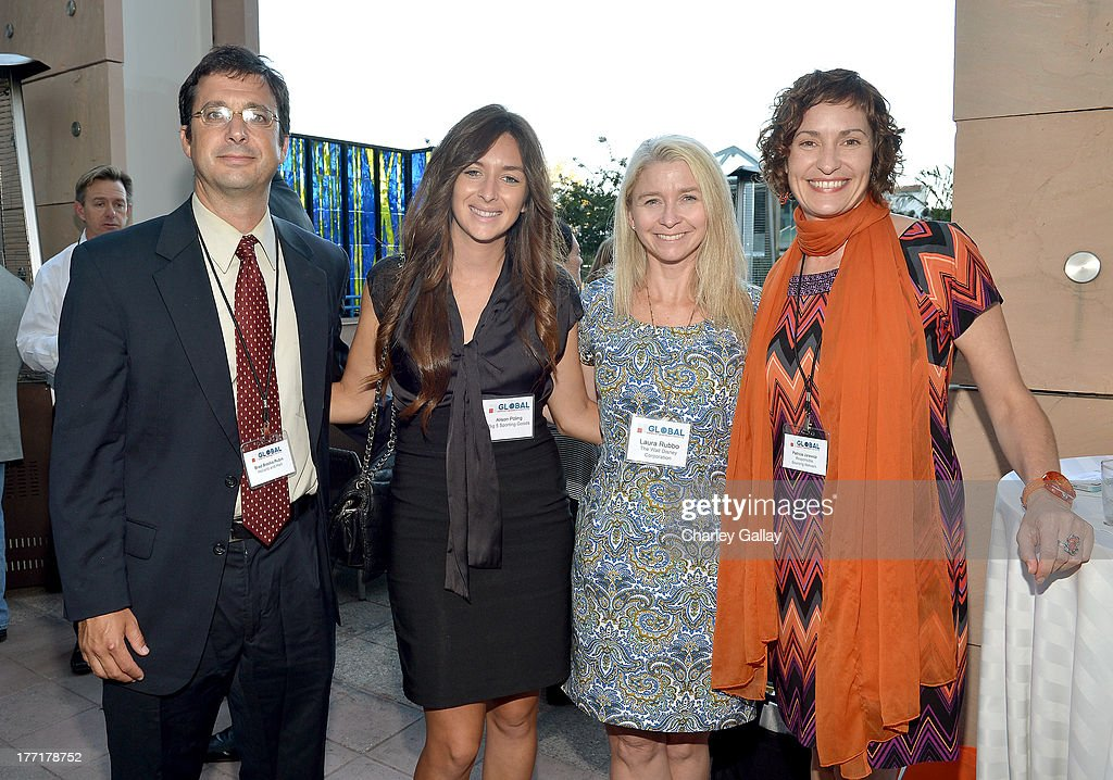 Brad Brooks-Rubin,Holland & Hart, Alison Poling,Big Five Sports Goods, Laura Rubbo, The Walt Disney Company, and Patricia Jurewicz, As You Sow attend the Global Conflict Minerals Symposium Dinner Presented by Source Intelligence at Omni Los Angeles Hotel on August 21, 2013 in Los Angeles, California.