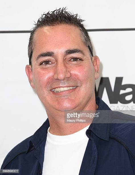 Brad Curly arrives at eZWay August Issue Celebration on August 27 2016 in Mission Viejo California