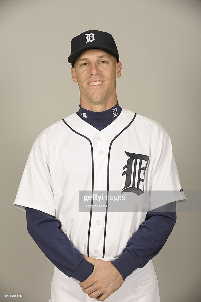 Brad Davis #65 of the Detroit Tigers poses during Photo Day on February 19, 2013 at Joker Marchant Stadium in Lakeland, Florida.