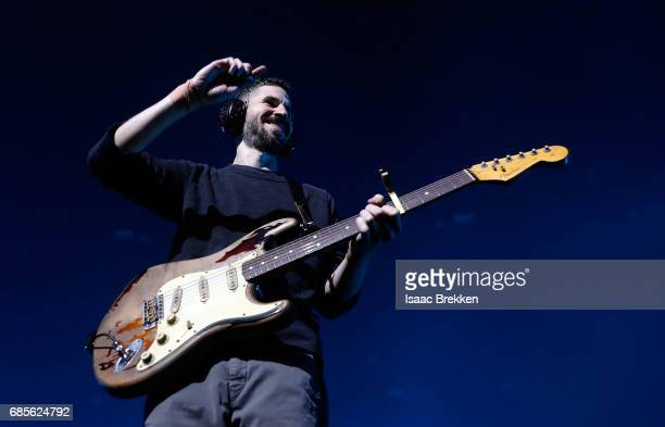 Brad Delson of Linkin Park performs during CBS RADIO's twonight 'SPF' concert at The Chelsea inside The Cosmopolitan of Las Vegas on May 19 2017 in...
