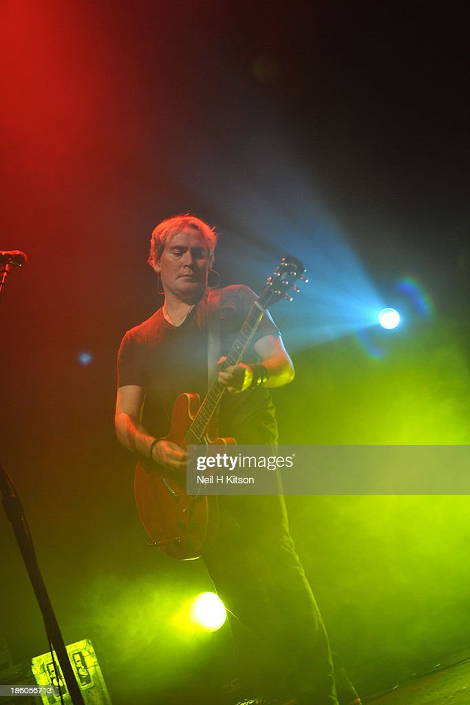 Brad Fernquist of Goo Goo Dolls performs at 02 academy on October 20, 2013 in Leeds, England.
