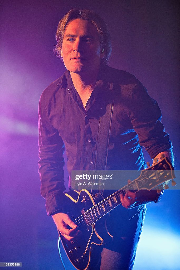 Brad Fernquist of the Goo Goo Dolls performs at 'The Eric & Kathy Second Chance Homecoming', presented by 101.9fm THE MIX at the Fairmont Chicago Millennium Park Hotel on October 15, 2011 in Chicago, Illinois.