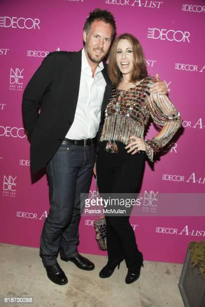 Brad Ford and Madeline Stuart attend ELLE DECOR ALIST at New York Design Center on June 10 2010 in New York City