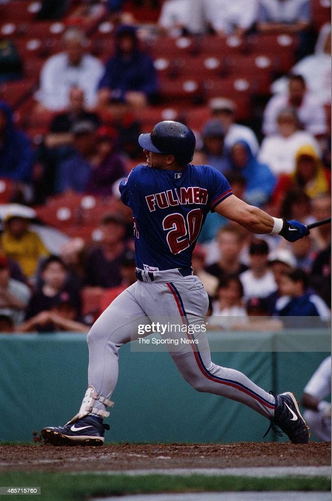<a gi-track='captionPersonalityLinkClicked' href=/galleries/search?phrase=Brad+Fullmer&family=editorial&specificpeople=220658 ng-click='$event.stopPropagation()'>Brad Fullmer</a> of the Toronto Blue Jays bats against the Boston Red Sox at Fenway Park on June 18, 2000 in Boston, Massachusetts.