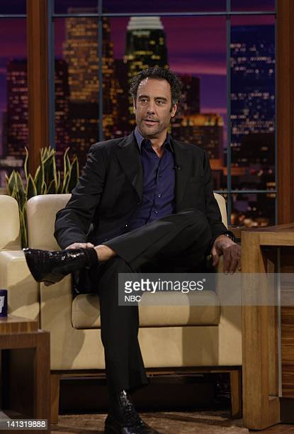 LENO Brad Garrett Air Date Episode 3536 Pictured Actor Brad Garett during an interview on April 15 2008 Photo by Paul Drinkwater/NBCU Photo Bank