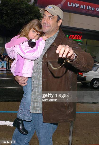 Brad Garrett and daughter Hope during 'Racing Stripes' Los Angeles Premiere Arrivals at Grauman's Chinese Theatre in Hollywood California United...