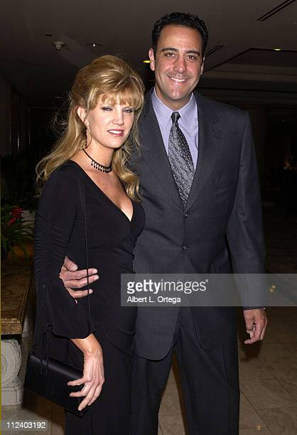 Brad Garrett and wife Jill Diven during 'Wish Night 2002' Gala Honoring Halle Berry by The MakeAWish Foundation at The St Regis Hotel in Century City...