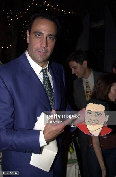 Brad Garrett during Everyone Loves Raymond 100th episode party at Spago in Beverly Hills California United States