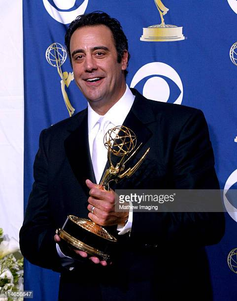 Brad Garrett winner of Outstanding Supporting Actor in a Comedy Series for 'Everybody Loves Raymond'