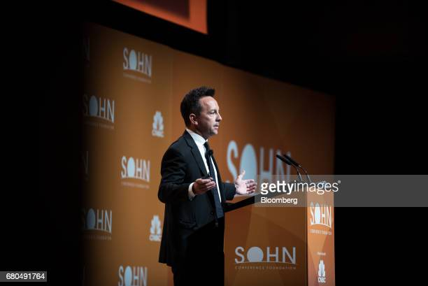 Brad Gerstner founder and chief executive officer of Altimeter Capital Management LLC speaks during the 22nd annual Sohn Investment Conference in New...