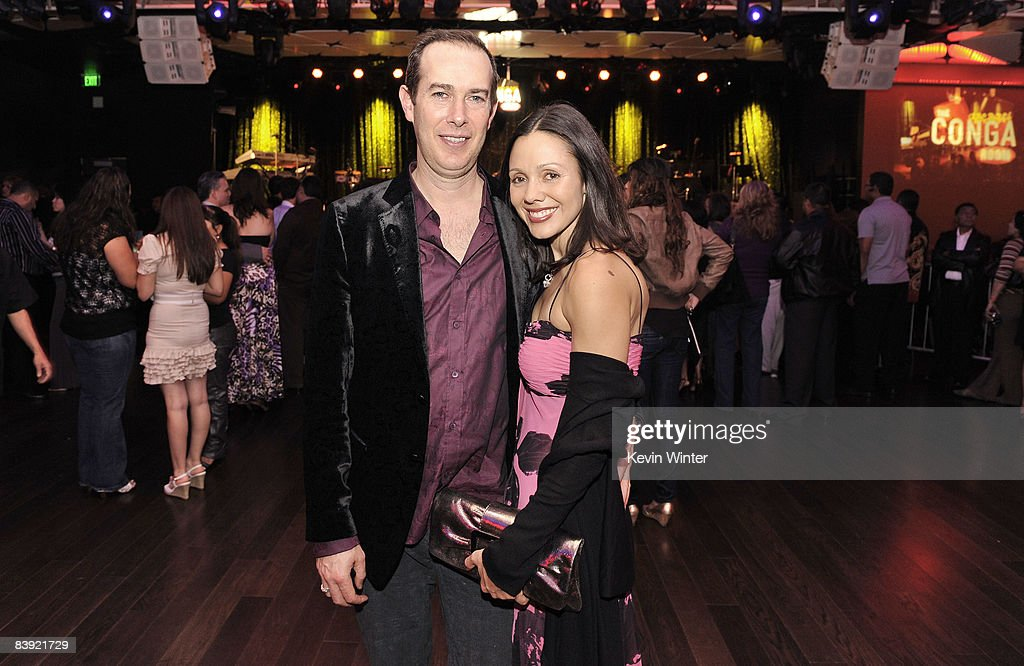 Superior ... Room At L.A. Live. Brad Gluckstein (L) And Yanka Burgos Pose At The  Opening Of The New Conga Part 16