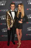 Brad Goreski and Giuliana Rancic attend Macy's Presents Fashion's Front Row during Spring 2016 New York Fashion Week at The Theater at Madison Square...