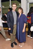 Brad Goreski and Rashida Jones attend Rachel Comey Los Angeles Store Opening on June 15 2016 in Los Angeles California