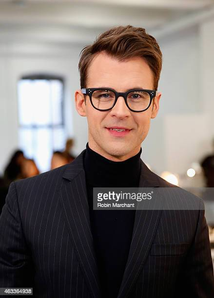 Brad Goreski attends Kate Spade New York Presentation at Center 548 on February 13 2015 in New York City