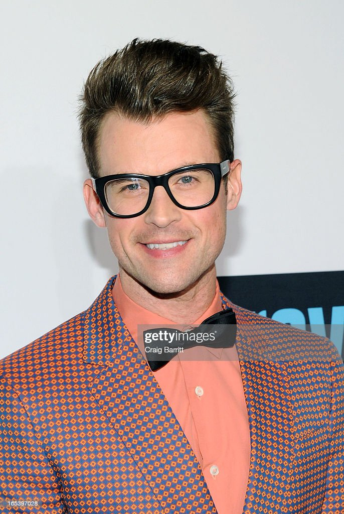 Brad Goreski attends the 2013 Bravo New York Upfront at Pillars 37 Studios on April 3, 2013 in New York City.