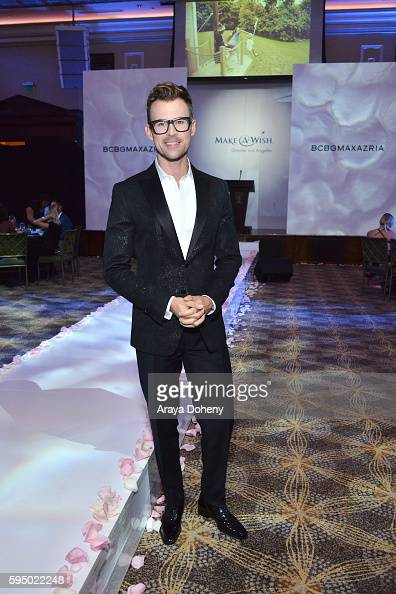 Brad Goreski attends the Inaugural Fashion Show Benefiting MakeAWish with BCBGMAXAZRIA and Celebrity Host Brad Goreski at The Taglyan Complex on...