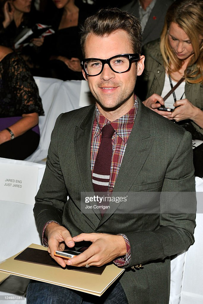 <a gi-track='captionPersonalityLinkClicked' href=/galleries/search?phrase=Brad+Goreski&family=editorial&specificpeople=3255296 ng-click='$event.stopPropagation()'>Brad Goreski</a> attends the Michael Kors Spring 2012 fashion show during Mercedes-Benz Fashion Week at The Theater at Lincoln Center on September 14, 2011 in New York City.