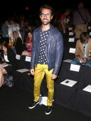 Brad Goreski attends the Naeem Khan show during Spring 2014 MercedesBenz Fashion Week at The Theatre at Lincoln Center on September 10 2013 in New...