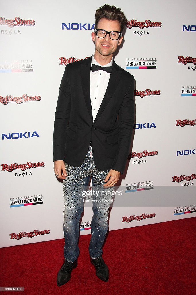 <a gi-track='captionPersonalityLinkClicked' href=/galleries/search?phrase=Brad+Goreski&family=editorial&specificpeople=3255296 ng-click='$event.stopPropagation()'>Brad Goreski</a> attends the Rolling Stone after party for the 2012 American Music Awards presented by Nokia and Rdio held at the Rolling Stone Restaurant And Lounge on November 18, 2012 in Los Angeles, California.