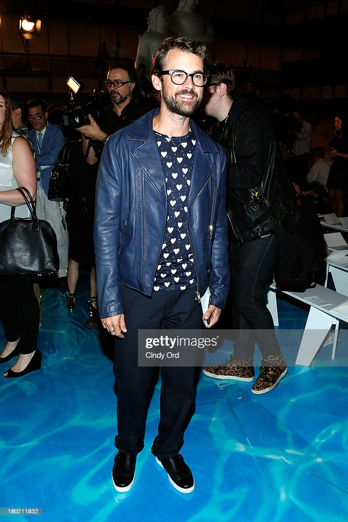 <a gi-track='captionPersonalityLinkClicked' href=/galleries/search?phrase=Brad+Goreski&family=editorial&specificpeople=3255296 ng-click='$event.stopPropagation()'>Brad Goreski</a> attends the Tory Burch fashion show during Mercedes-Benz Fashion Week Spring at David H. Koch Theater at Lincoln Center on September 10, 2013 in New York City.