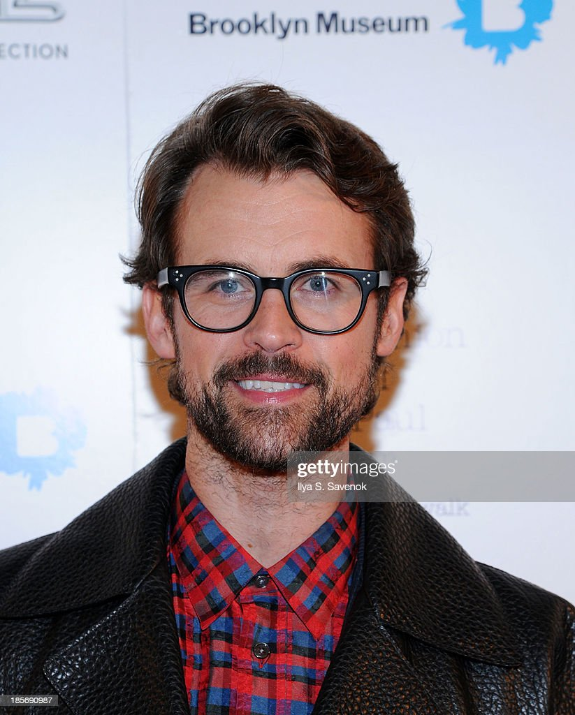 <a gi-track='captionPersonalityLinkClicked' href=/galleries/search?phrase=Brad+Goreski&family=editorial&specificpeople=3255296 ng-click='$event.stopPropagation()'>Brad Goreski</a> attends the VIP reception and viewing for The Fashion World of Jean Paul Gaultier: From the Sidewalk to the Catwalk at the Brooklyn Museum on October 23, 2013 in the Brooklyn borough of New York City.