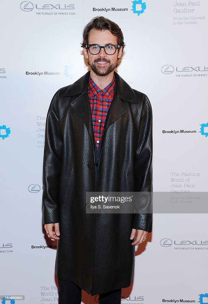 Brad Goreski attends the VIP reception and viewing for The Fashion World of Jean Paul Gaultier: From the Sidewalk to the Catwalk at the Brooklyn Museum on October 23, 2013 in the Brooklyn borough of New York City.
