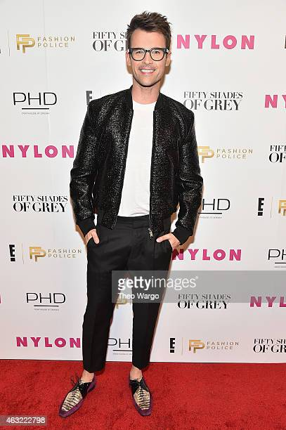 Brad Goreski attendsE 'Fashion Police' and NYLON kickoff New York Fashion Week with a 50 Shades of Fashion event in celebration of the release of the...