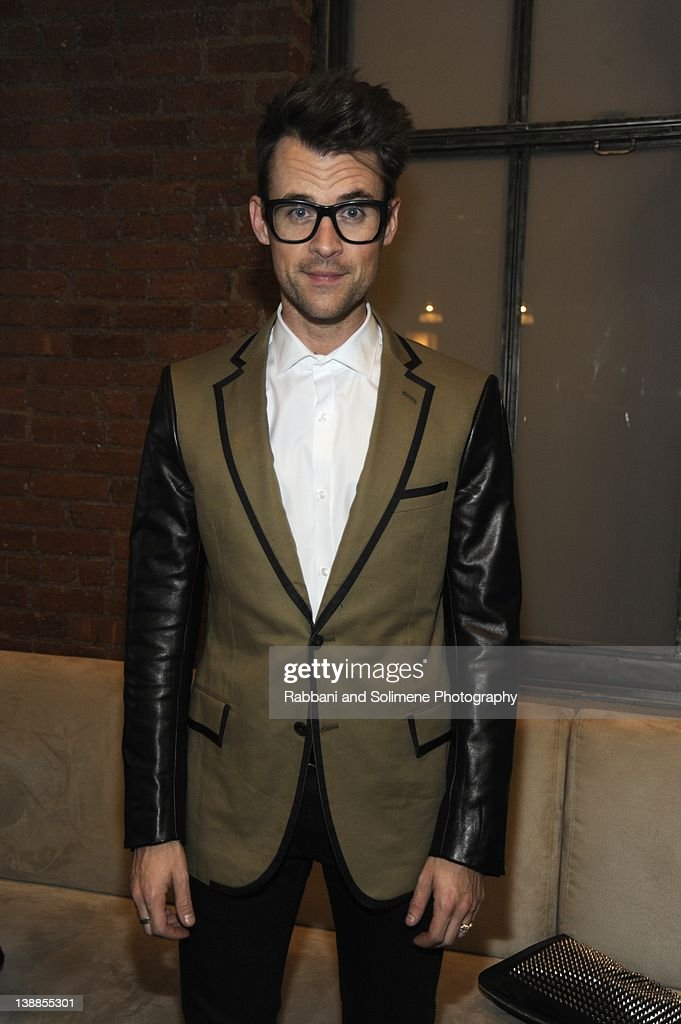 <a gi-track='captionPersonalityLinkClicked' href=/galleries/search?phrase=Brad+Goreski&family=editorial&specificpeople=3255296 ng-click='$event.stopPropagation()'>Brad Goreski</a> backstage at the Simon Spurr fall 2012 fashion show during Mercedes-Benz Fashion Week at Milk Studios on February 12, 2012 in New York City.